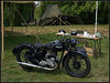 Royal Navy Motorbike (J-o-h-n---E) Tags: sandwich kent ww2 reenactment 1940s 40s military motorbike navy