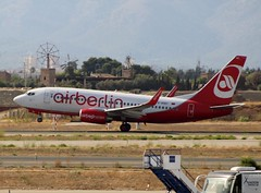 Air Berlin (Op by TUIfly) B737-76J D-AGEC taking off at PMI/LEPA (AviationEagle32) Tags: palma palmademallorcaairport palm aeropuertodepalmademallorca sonsantjoanairport aeropuerto pmi lepa majorca balaericislands spain espana airport aircraft airplanes apron aviation aeroplanes avp aviationphotography aviationlovers avgeek aviationgeek aeroplane airbus airplane arrivals planespotting planes plane flying flickraviation flight vehicle tarmac terminal airberlin oneworld tui tuitravel tuigroup tuifly boeing boeing737 b737 b737ng b737w b737700 b73776j dagec winglets takeoff departure