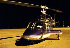 D-HHSC_25oct93EHGG1 (Heron81) Tags: dhhsc ehgg grq eelde groningeneelde groningenairporteelde gae helicopter bell bell222 cn 47080 n20461 n131gs n994aa bell222a slidescan night