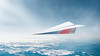 Paper Plane (loganzillmer) Tags: conceptualimage conceptualphotography airplane paperplane fly flight