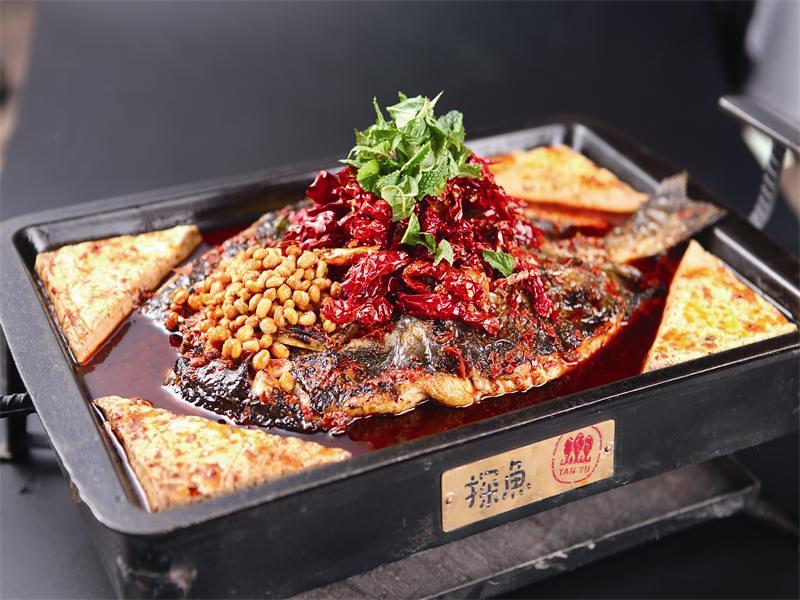 探魚 重庆豆花烤鱼