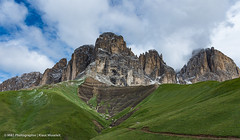 Alpenlandschaft aufgenommen in Südtirol - Alpine landscape photographed in South Tyrol (klausmoseleit) Tags: jahreszeit gröden alpen südtirol sommer orte campitellodifassa trentinoaltoadige italien it