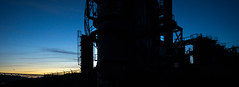 Gas Works Pano (bombeeney) Tags: sunset seattle washington pacificnorthwest pnw gasworkspark silhouette