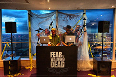 The Establishing Shot: FEAR THE WALKING DEAD LAUNCH – ZOMBIFIED  ZOMBIE WALKER FREIGHT TRAIN DJS @ TOP OF BT TOWER - LONDON [Sony Xperia Z5 Compact] (Craig Grobler) Tags: ckc1ne craiggrobler craigcalder london film tv uk theestablishingshot wwwtheestablishingshotcom theestshot attheestshot fearthewalkingdead thewalkingdead zombies fearthewalkingdeadpremiere bttower launch party dj views ftwd herontower tower42 thegherkin 30stmaryaxe 122leadenhallstreet cheesegratertower leadenhallbuilding cheesegrater onecanadasquare 25canadasquare citigrouptower 20fenchurchstreet thewalkietalkie walkietalkie stpaulscathedral uclcruciformbuilding universitycollegelondon hydepark regentspark bluehour stmaryleboneparishchurch parkviewresidence hdr allsoulslanghamplace thelangham palaceofwestminster housesofparliment clocktower bigben victoriatower portcullishouse foreigncommonwealthoffice fco millenniumeye seacontainershouse oxotower theshard oneblackfriars southbanktower harrods sony sonynex5 nex5