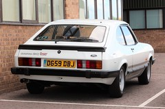 D659 DBJ (2) (Nivek.Old.Gold) Tags: 1987 ford capri 20 laser mk3