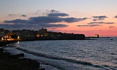 47/52 Backlit: Trapani sunset / Tramonto a Trapani (Bella Lisa) Tags: tramonto sunset trapani backlit sicily sicilia italy italia mare seaside fishing lapesca