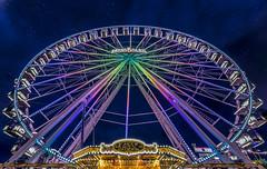Big wheel / Sterkrader Kirmes (mr.wohl) Tags: riesenrad kirmes jahrmarkt sterkrade wheel nacht tamron tamron1530mm stadt oberhausen city lights lichter nachtaufnahme