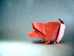 Pig - Edwin Corrie (Rui.Roda) Tags: origami papiroflexia papierfalten porco cerdo cochon pig edwin corrie