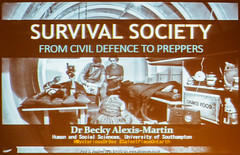 Photo of P5256446 Survival Society: From Civil Defence to Preppers -  with Becky Alexis-Martin
