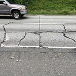 Emergency repair on broken concrete panel thumbnail