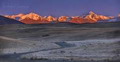 Country road take me home.... (PhotoArt Images) Tags: newzealand nzsouthisland sunrise photoartimages frost countryroadtakemehome mountains snowcappedmountains
