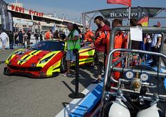 AF Corse/Spirit of Race Ferrari 488 GT3 (Y7Photograφ) Tags: af corsespirit race ferrari 488 gt3 anthony liu davide rizzo tony vilander blancpain endurance series httt castellet nikon d3200 motorsport racing