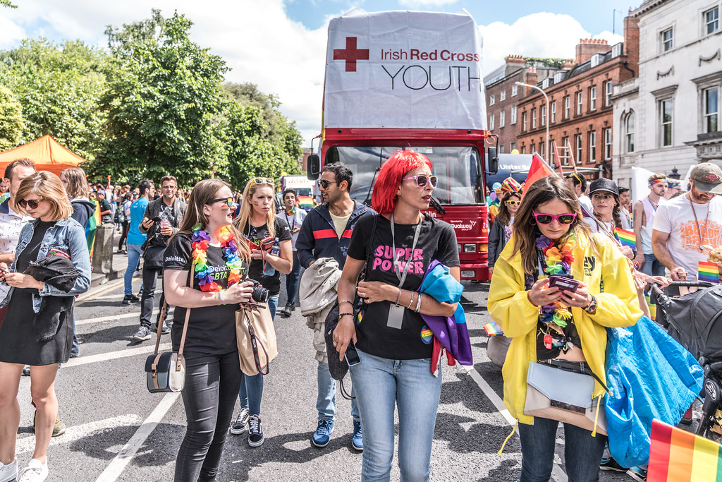 LGBTQ+ PRIDE PARADE 2017 [STEPHENS GREEN BEFORE THE ACTUAL PARADE]-129925