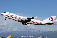 China Cargo Airlines / Boeing 747-40BF(ER) / B-2426 departure from Ted Stevens Anchorage International Airport, Alaska. (Angel Moreno Photography) Tags: chinacargoairlines boeing74740bfer b2426 tedstevensanchorageinternationalairport alaska airport airplane aircraft plane planespotter