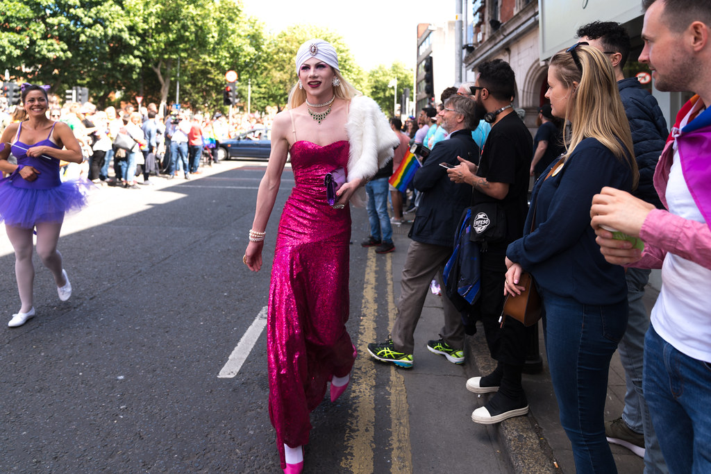 LGBTQ+ PRIDE PARADE 2017 [ON THE WAY FROM STEPHENS GREEN TO SMITHFIELD]-130065