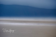 Life's a beach.. (Nigel Young Photos) Tags: devon putsborough sand icm 3x2 abstract walking colourful sky beach sea seaside