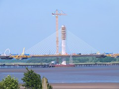 DSCF0704E Mersey Gateway Bridge (Anand Leo) Tags: merseygatewaybridge rivermersey widnes halton runcorn