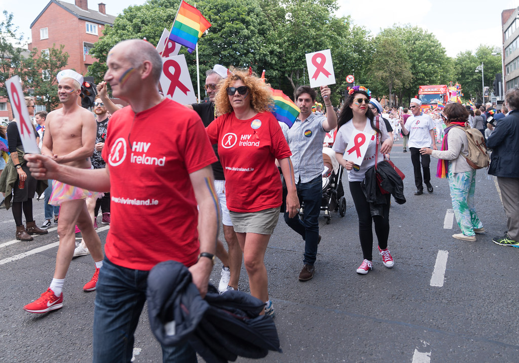 LGBTQ+ PRIDE PARADE 2017 [ON THE WAY FROM STEPHENS GREEN TO SMITHFIELD]-130172