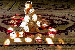 Me. (Victoria.....a secas.) Tags: irán isfahan mezquita mosque yo me