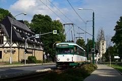 Tatra T2R #19+18 DPML Liberec (3x105Na) Tags: tatra t2r 1918 dpml liberec tramwaj tramvaj strassenbahn strasenbahn tram českárepublika czechy tschechien sonderfahrt przejazdspecjalny przejazd