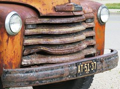 Chevrolet (Hear and Their) Tags: 1949 chevrolet truck dual dually