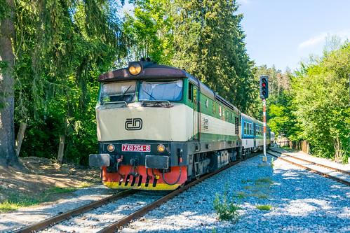 749 264-8 ČD Jílové u Prahy 24.06.17