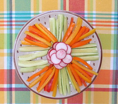 Veggies (genesee_metcalfs) Tags: food vegetables peppers radish cucumber