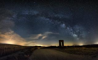 Milky Way - Tuscany Hill - Via Lattea