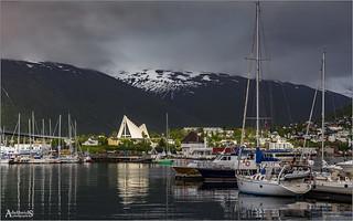 Light from above, Tromsø, Norway