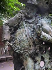 Greg Wyatt, Henry IV, Part II (jacquemart) Tags: shakespeareshakespearebirthplacetrustgardensculpturebronzegregwyatthenryiv partiifalstaff newplace
