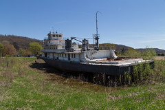 Beached (joeqc) Tags: canon 6d ef24105f4l wisconsin wi mississippi river towboat prairieduchein