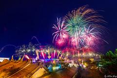 澎湖花火節 (rachman0617) Tags: fireworks penghu ocean 觀音亭 馬公 廟 nikon nikond610