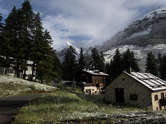 Plasecc (quanuaua) Tags: ifttt 500px sky landscape nature house italy architecture tree summer family snow wood home mountain alps outdoors cabin hut chalet valtellina alpi livigno no person
