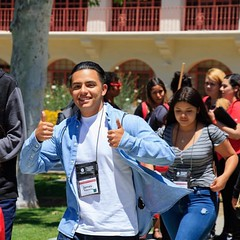 Rave reviews from our incoming freshmen at Island View Orientation! #IVO2017 #FutureDolphins #CSUCI #TwoThumbsUp (snap_ci) Tags: ivo2017 futuredolphins csuci twothumbsup