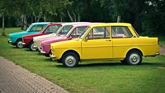 DAF (vanderwoud1) Tags: daf auto automobiel kleuren colours yellow driver car show cars nederland d3300 nikon 50mm colorfol klassiekeautos classiccars