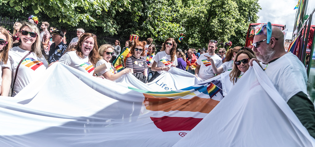 LGBTQ+ PRIDE PARADE 2017 [STEPHENS GREEN BEFORE THE ACTUAL PARADE]-129832