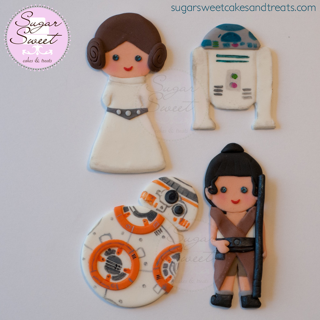 r2d2 and bb8 wedding cake topper the world s best photos of fondant and starwars flickr 18949