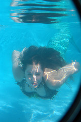 DSC_0362 (Daniel Breitenbach) Tags: mermaid blue underwater