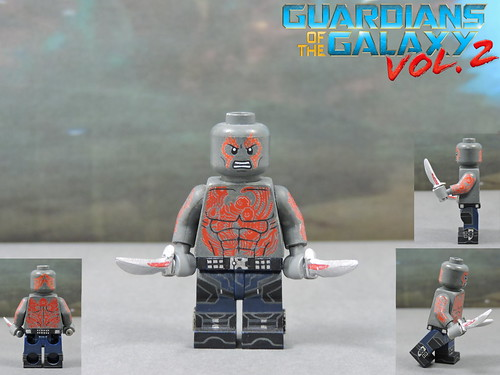 Custom LEGO Guardians of the Galaxy Vol 2: Drax the