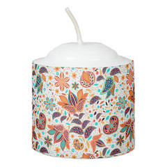 Cute colorful classic floral patterns Candle (Forart Gift) Tags: cute colorful classic floral patterns candle bougie vela kerze キャンドル kaars candela lys stearinlys ljus