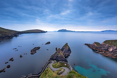 Dusk Over Dunquin, Dingle Peninsula, Ireland (MelvinNicholsonPhotography) Tags: dunquin dinglepeninsula ireland dusk water islands rocks bluesky bluehour melvinnicholsonphotography