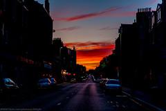 Great Sunset looking North of Aberdeen-Scotland Around 22.42hrs 03/07/2017