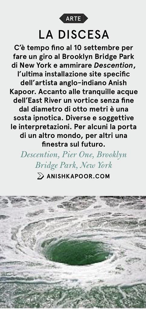 La Discesa, Anish Kapoor