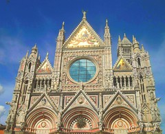 Sienna Cathedral Facade (thomasbfinney) Tags: sienna cathedral italy sky reflection facade medieval archaeology architecture
