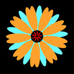 flower 4310 icon (kwippe) Tags: icons clipart vector