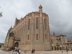Albi Cathedral from Place Sainte-Cécile, Albi, France (Paul McClure DC) Tags: albi france occitania occitanie tarn july2017 cathedral historic architecture languedoc