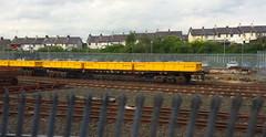 NIR Spoil Wagons, Ballymena, July 2017 (nathanlawrence785) Tags: nir translink caf train 4000 3000 class dmu londonderry coleraine portrush branch junction antrim railway station