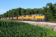 So Fresh and So Clean (wras23) Tags: unionpacific up sd70aht4 3027 cahokia illinois railroad train