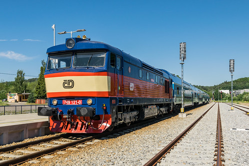 749 121-0 ČD Tynec nad Sázavou 24.06.17