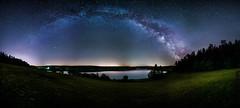 Milchstraße über Heyda. (SecureTheMoment) Tags: milchstrase milkyway nacht night sterne mond landschaft landscape